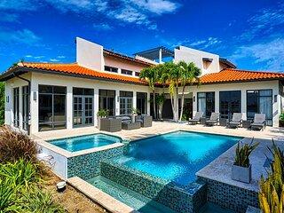 Modern Villa w/ Infinity Pool, Hot Tub, Outdoor Kitchen, Close to Marriott