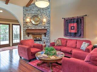 Rustic Fayetteville Townhome w/Fireplace & 3 Decks