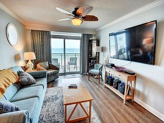 Huge 4 Bed Direct Oceanfront Corner Condo FREE WIFI!