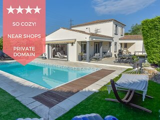 KIKILOUE ☀️ Villa 4 chambres avec piscine dans domaine prive ☀️