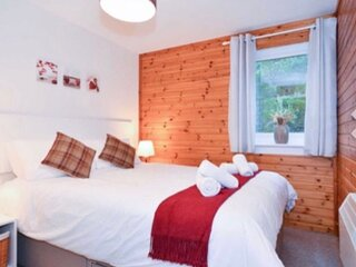 Well appointed self catering lodge set in tranquil Scottish Highland countryside