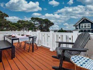 Stunning Coastal Getaway, All Bedrooms With En-suite Bathrooms, Hot Tub, BBQ, Se