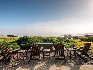 Walk to the Beach! Ocean-View Bodega Harbour Estate w/ Private Hot Tub