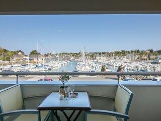 La Chaloupe - Appartement avec balcon vue sur le port