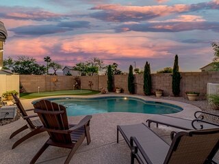 Executive Pool Home in the Heart of Gilbert! 30 Night Minimum Stay!