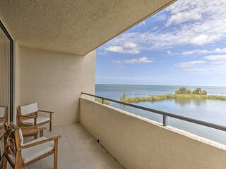 NEW! Waterfront Resort Condo: Private Beach & Pool