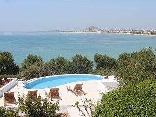 Villa 'Blue' infinity Pool - Villa Paradise Hotel Naxos