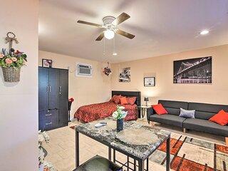 NEW! Central Galveston Studio - 5 Min to Coast!