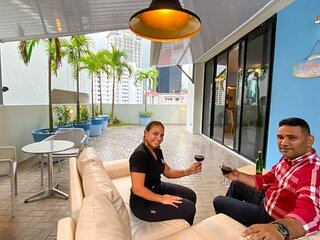 Panama, Heart of the City with Large Private Balcony