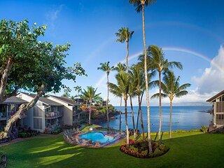 Seclusion & luxury in west Maui! Condo #212, 1 bdr+loft bdr, 2 ba, Oceanfront