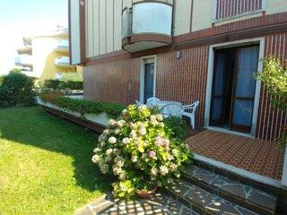 Appartamento bicamere con giardino