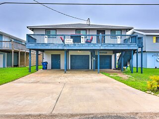 NEW! Home w/ Dock, Deck & Grill: 1 Mi to Beaches