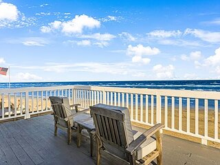 Song Beachfront | Directly on the Sand | Big Wraparound Gulf-Front Deck