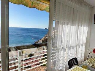 Benidorm, Poniente,Wifi free,hasta 6P,TV Sat,Parking,Piscina,preciosas vistas,
