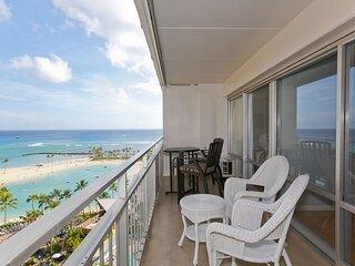 Ocean Lagoon Suite Two Bedroom - Waikiki Condoa
