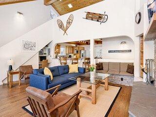 Lassen Paradise | Ultra Modern Resort Chalet | Packed Game Room