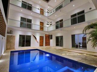 Beautiful Room near Zicatela Beach by Villas hk28