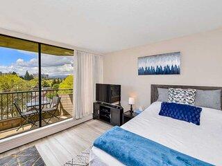 James Bay 1 Bedroom Executive Studio Condo with Spectacular Views