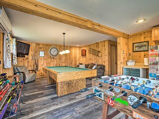Spacious Home Adjacent to Mt. Snow w/ Game Room!