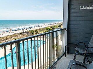 Myrtle Beach Resort A402 | Wonderful Ocean Front Condominium