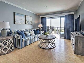 NEW! Blue Water Resort Condo - Ocean View & Pool!