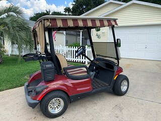 Updated Villa with Golf Cart close to Lake Sumter & Spanish Springs