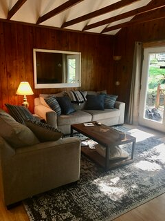 Living room from the  sunroom