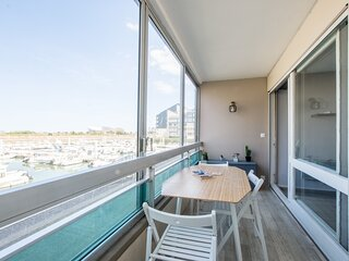 Boutton d'Or - Studio vue sur le port - Courseulles sur Mer