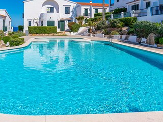 Beautiful apartment in Menorca with Outdoor swimming pool, WiFi and 2 Bedrooms (