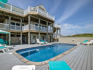 The Duck House | Oceanfront | Private Pool | Duck