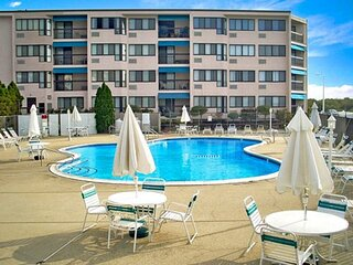 Spacious 2BR Jersey Shore Condo with Pool & Amenities