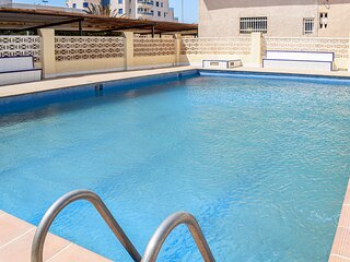 Amazing apartment in Cabo de Palos with Outdoor swimming pool, Internet and 3 Be