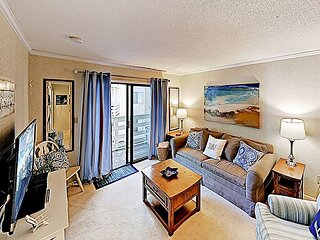 New Listing! 'Seas the Day' All-Suite Getaway Steps to Beach w/Pools & Tennis