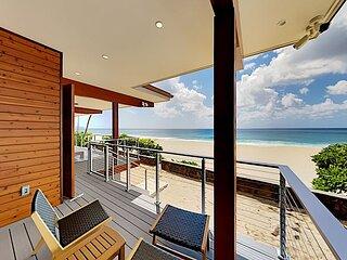 Pipeline En Suite | Beachfront Studio | Private Lanai & Incredible Water View