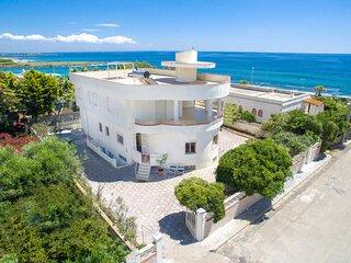 Appartamento Limonaia - Villa Odetta, sul mare a Torre Colimena - Salento