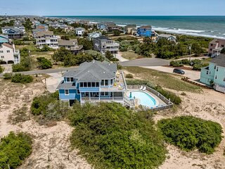 Corolla Horizon | 289 ft from the beach | Private Pool, Hot Tub | Corolla