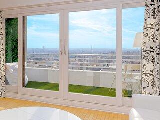Appart 100 m2 avec vue sur Paris