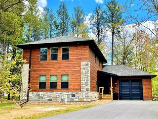 Wooded Bliss at Spring Brook Resort | 5 Bedroom Home Near Golf Course