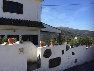 House in quiet rural village with amazing views
