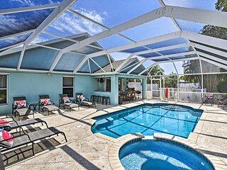NEW! Modern Beach Retreat w/ Pool, Hot Tub & Patio