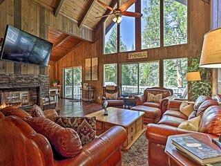 Stunning Lake Arrowhead Home w/ Multi-Level Decks