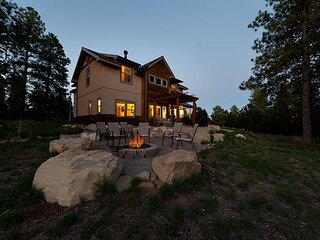 Luxury Home on 3 Acres - 9 Min to DGO - Fire Pit/Ping Pong/Arcade Game