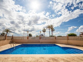 Amazing apartment in Sueca with Outdoor swimming pool and 4 Bedrooms (EBV093)