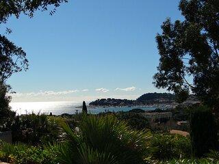 Tres belle villa provencale avec vue mer