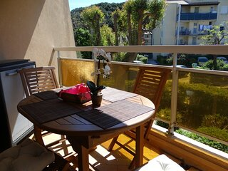 Appartement 2 chambres  climatise
