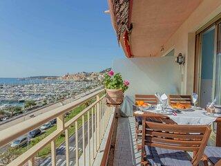 Magnifique 3P face mer et port avec terrasse