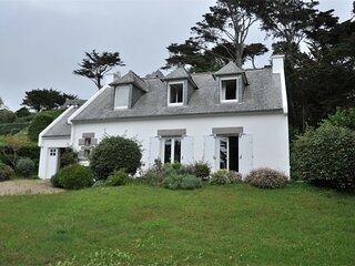 Maison a 150m de la plage de Tresmeur et de l'ecole de voile a TREBEURDEN