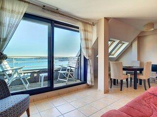Appartement Vue Mer à Camaret-sur-Mer (à 800m de la plage)