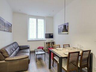 Appartement en centre ville pour 6 personnes.