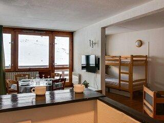 2 pièces 6  personnes, résidence Mongie Tourmalet